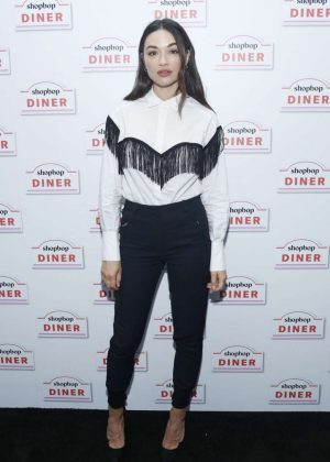 Crystal Reed - Shopbop Presents The Shopbop Diner in NYC