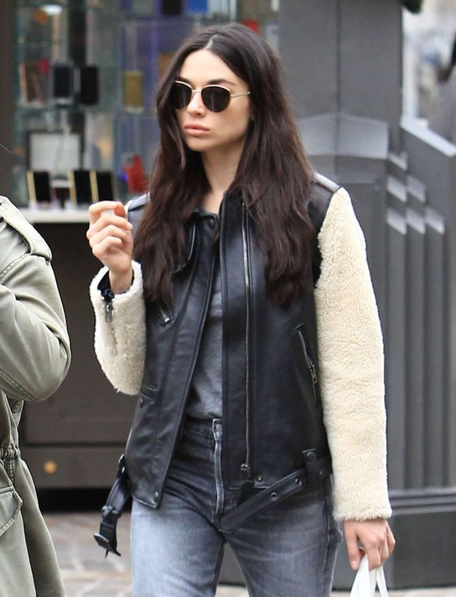 Crystal Reed Shopping at The Grove in Hollywood