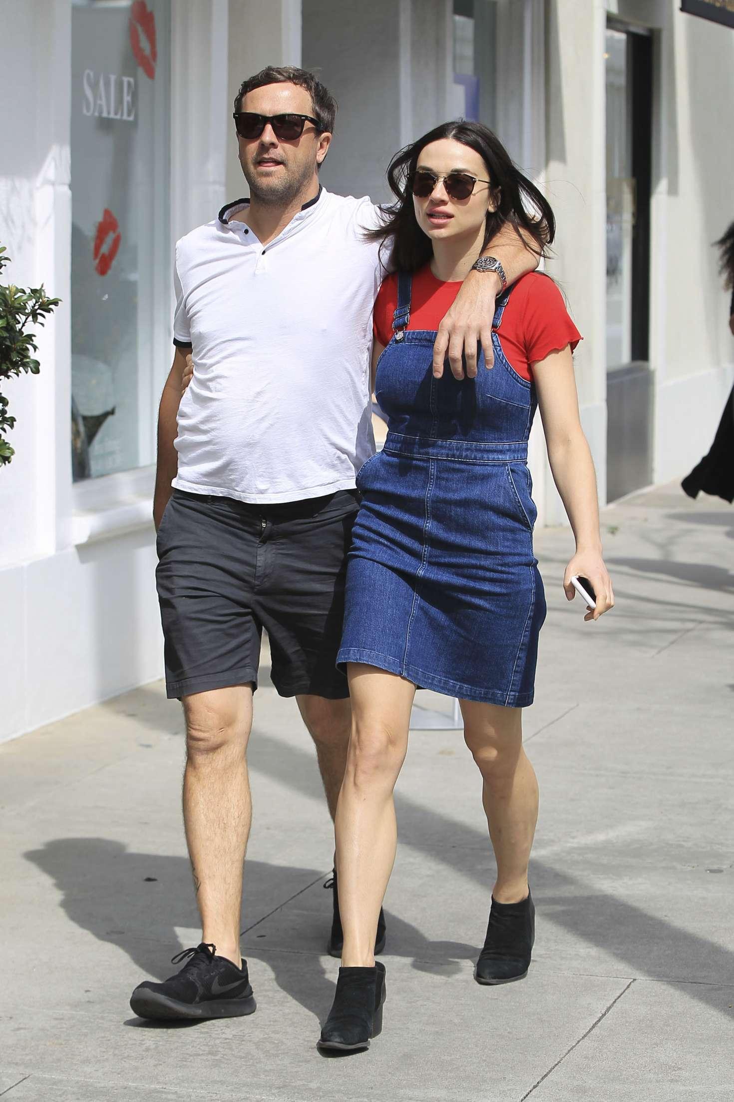 Bethany Joy Lenz Boyfriend Classy crystal reed with boyfriend darren mcmullen shopping in beverly