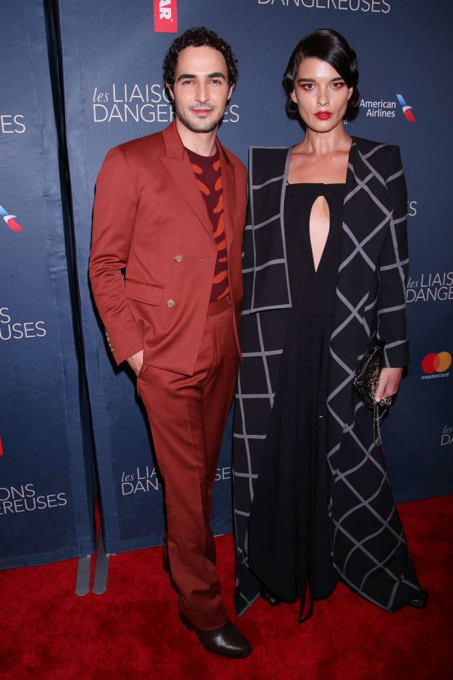 Crystal Renn - Opening night of Les Liaisons Dangereuses in New York