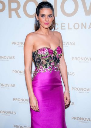 Cuca Roseta - 2017 Pronovias Fashion Show in Barcelona