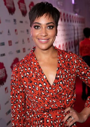 Cush Jumbo - 2018 Stage Debut Awards in London