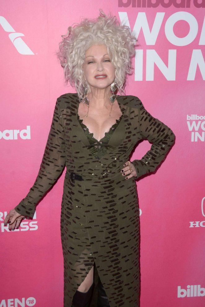 Cyndi Lauper – Billboard Women In Music 2018 in New York City