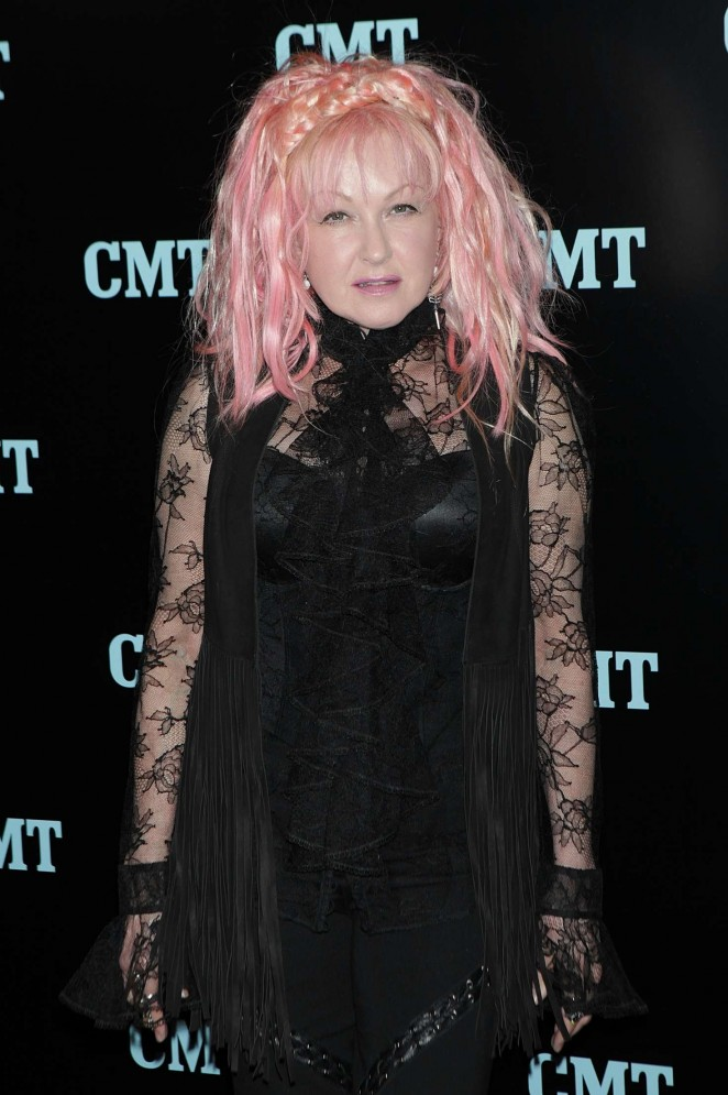 Cyndi Lauper - Viacom Kids and Family Group Upfront Event in New York