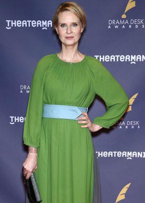 Cynthia Nixon - 2017 Drama Desk Awards in New York