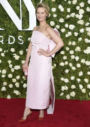 Cynthia Nixon - 2017 Tony Awards in New York City