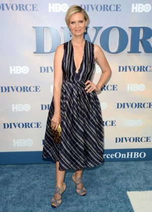 Cynthia Nixon - 'Divorce' Premiere in New York