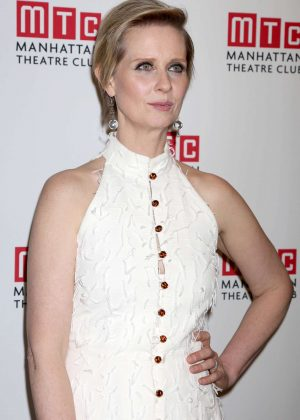 Cynthia Nixon - 'The Little Foxes' Play Opening Night in New York
