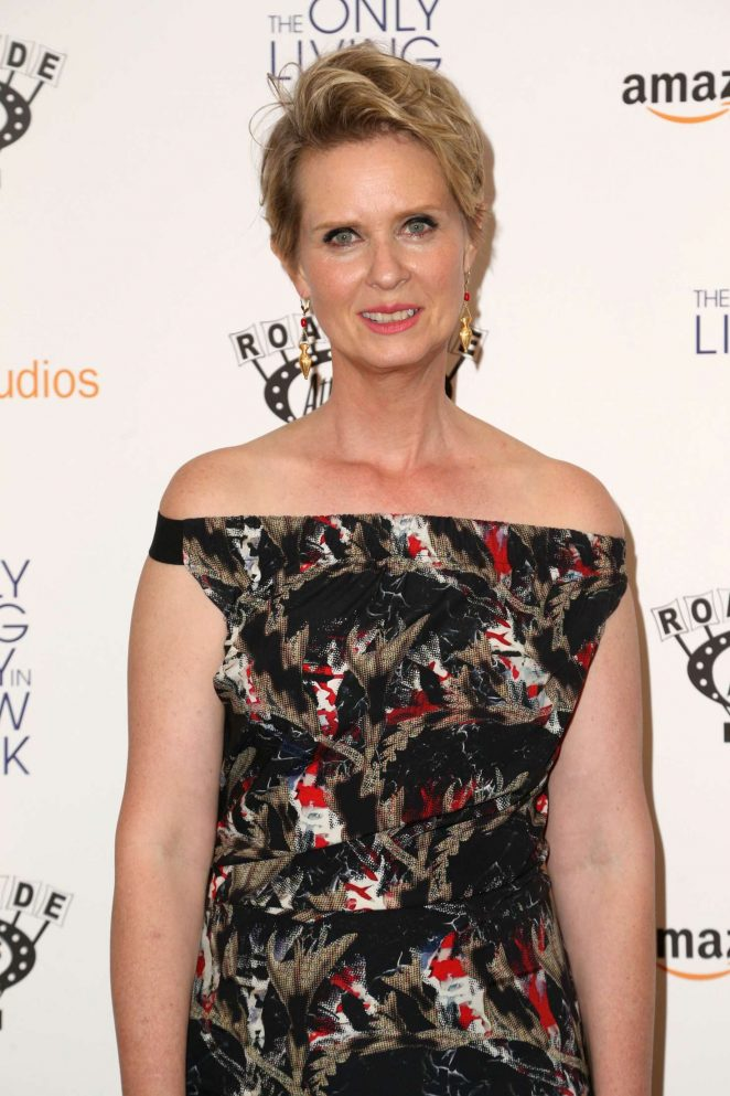 Cynthia Nixon - 'The Only Boy Living in New York' Premiere in NY