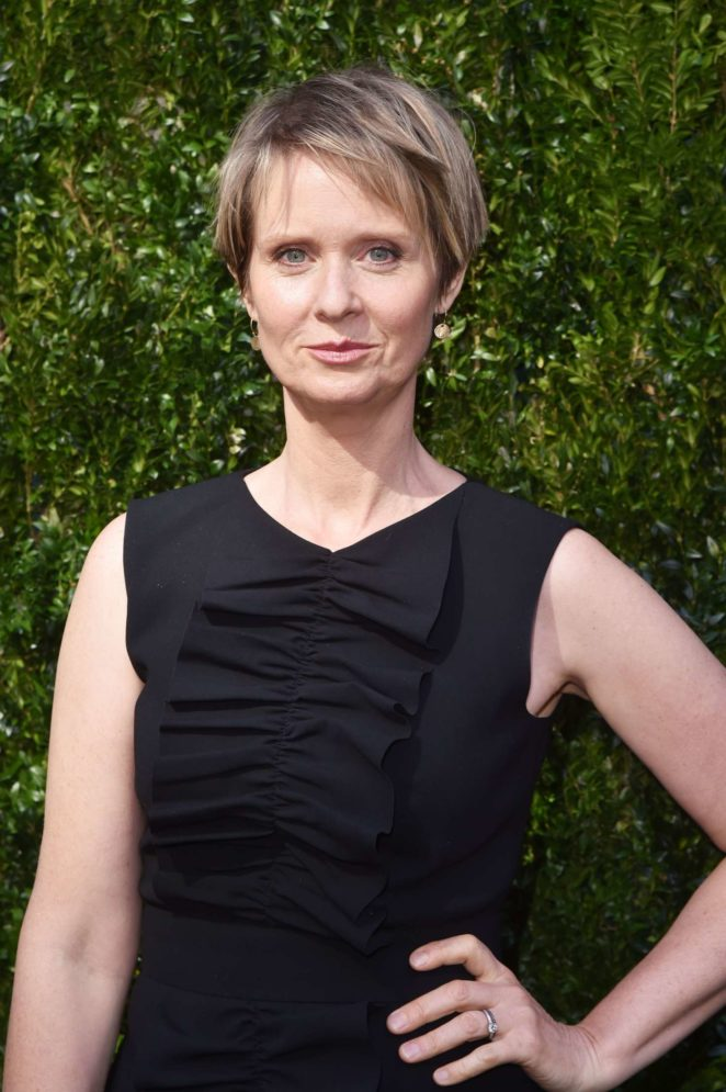 Cynthia Nixon - The Tribeca Chanel Women's Filmmaker Program Luncheon in NYC
