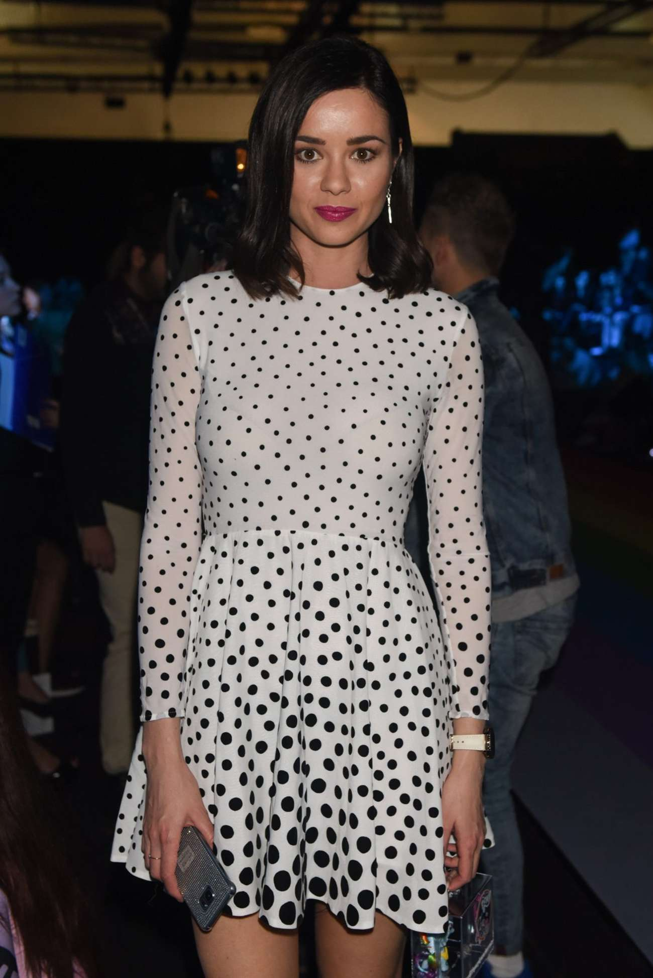 Dafne Fernandez - Mercedes Benz Fashion Week 2016 in Madrid