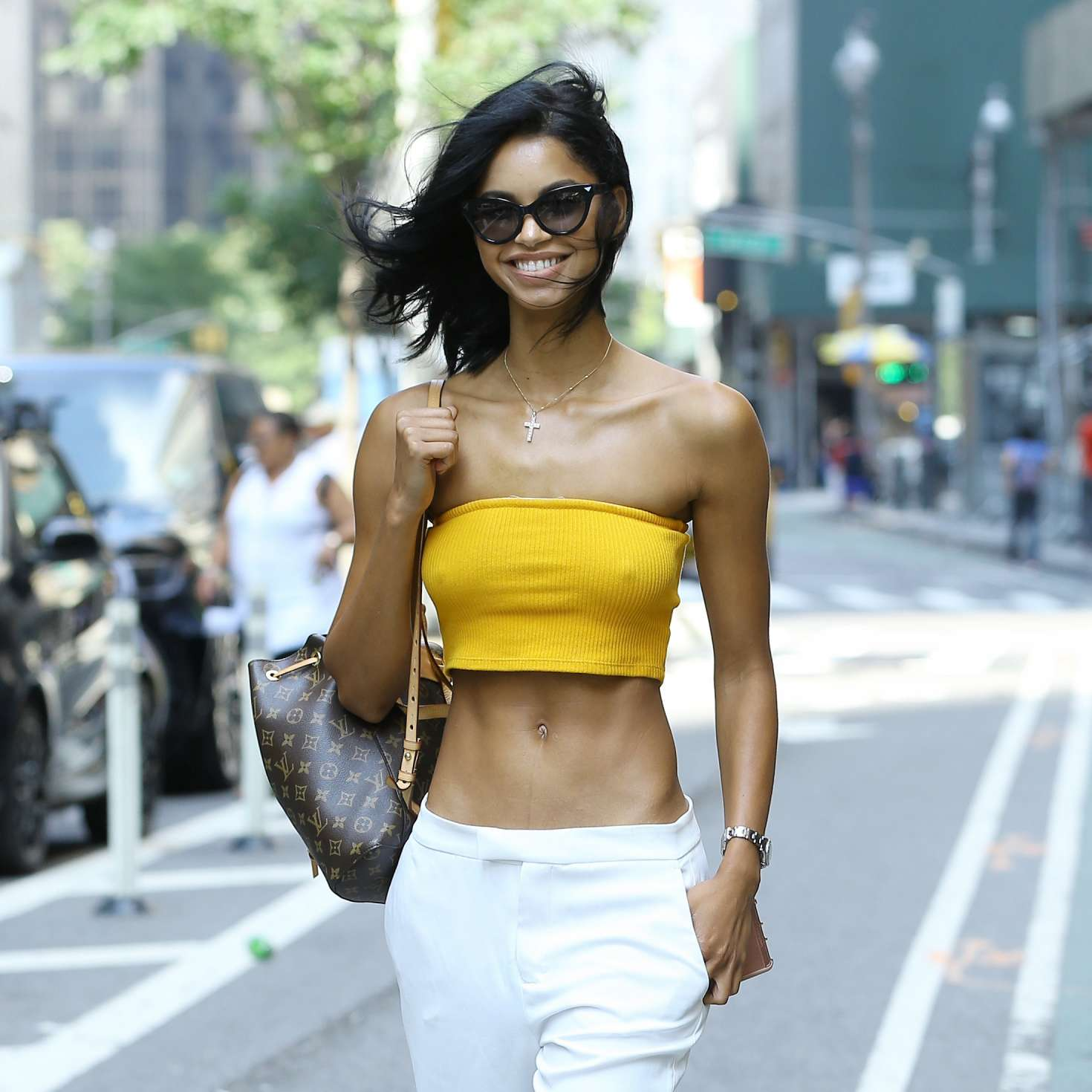 Daiane Sodre at Casting Call for the Victorias Secret ...