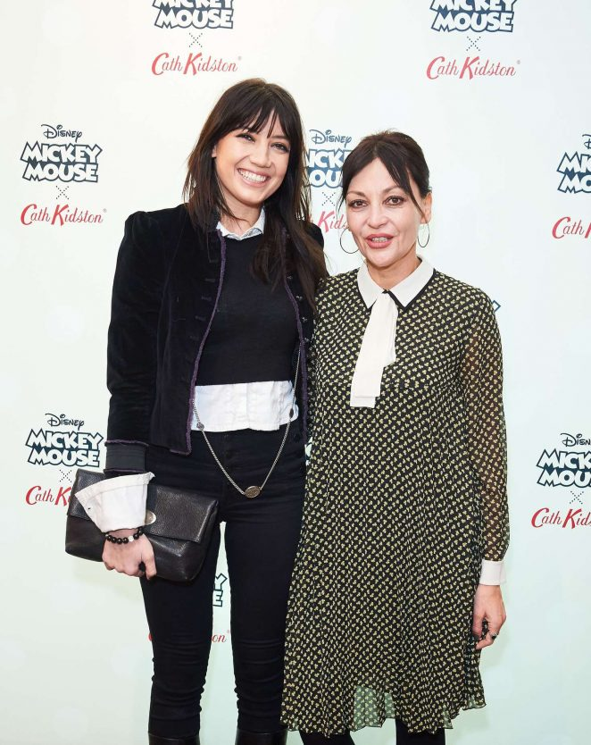 Daisy and Pearl Lowe - Disney X Cath Kidston Mickey and Minnie VIP Launch in London