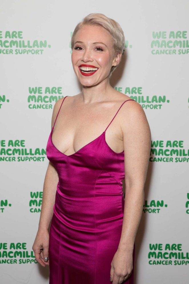 Daisy Lewis - Macmillan Cancer Support Winter Gala in London