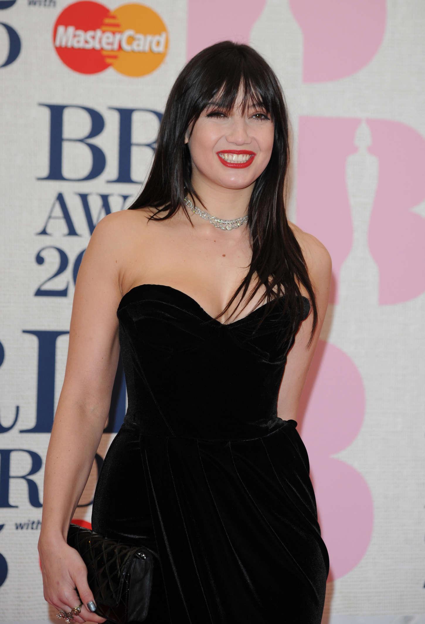 Daisy Lowe - 2015 BRIT Awards in London