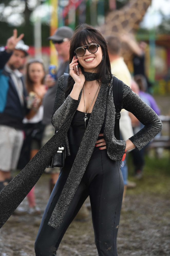Daisy Lowe - 2016 Glastonbury Festival Day 1 in England