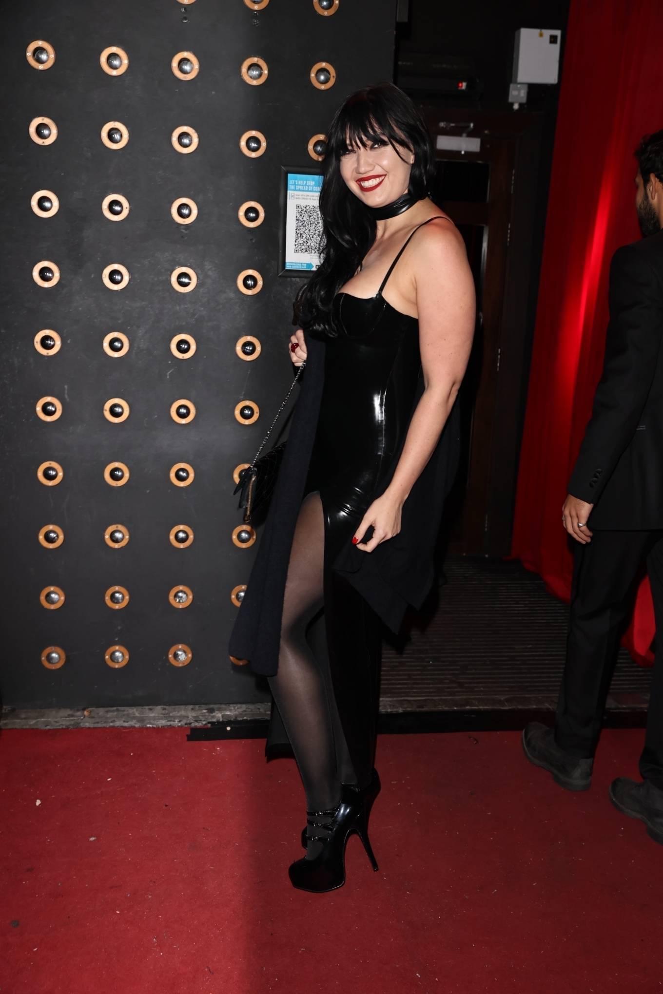 Daisy Lowe - All Star Cabaret Halloween Night at Proud Embankment in London