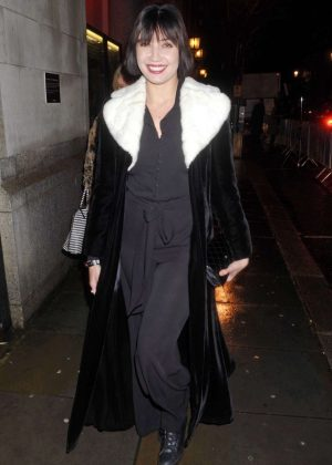 Daisy Lowe - Arrives at Huawei's Unfinished Symphony in London