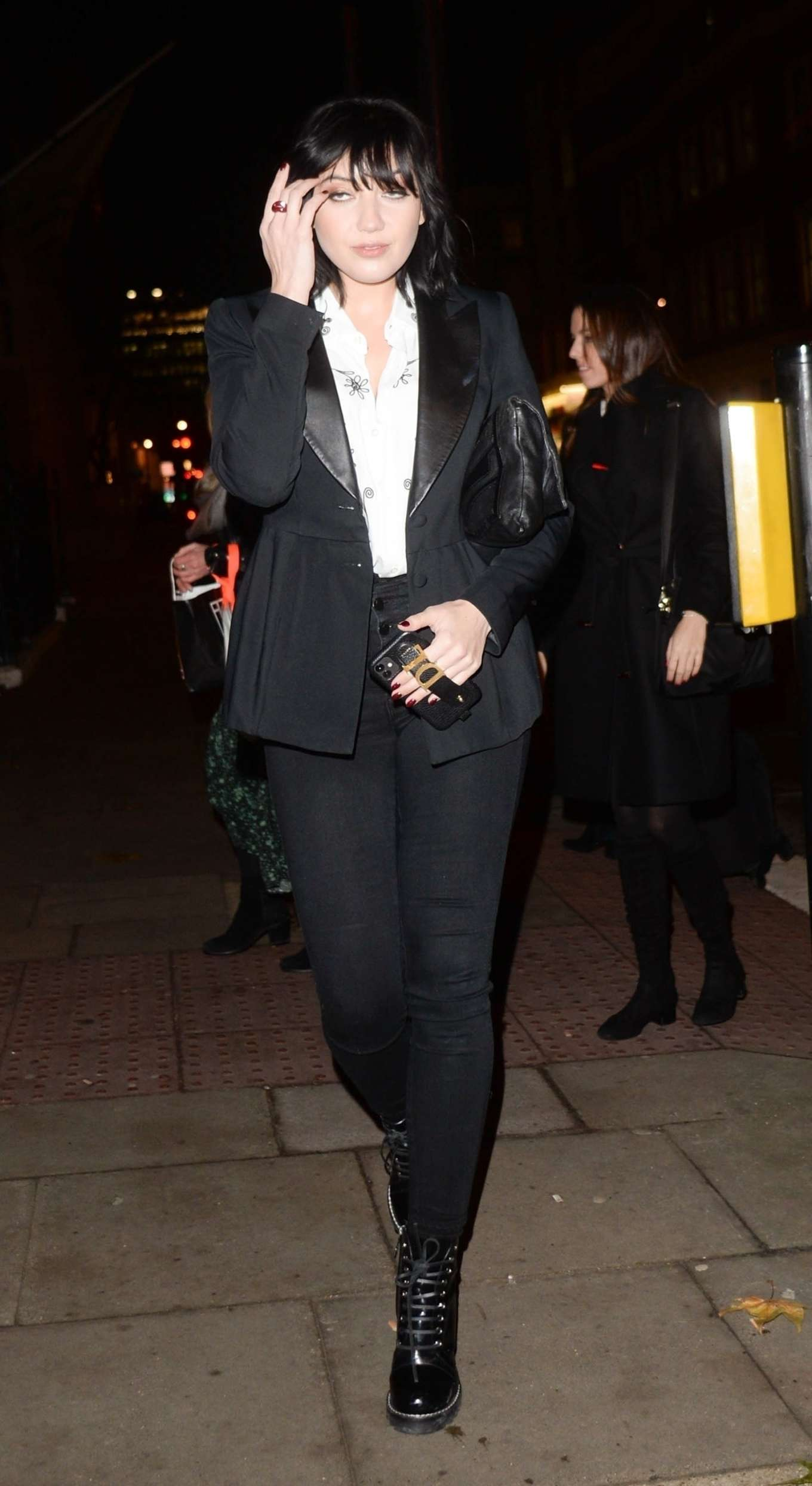 Daisy Lowe - Arrives at Tanqueray No Ten Launch in London