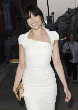 Daisy Lowe - Arrives at VIP preview Royal Academy of Arts Summer Exhibition 2016 in London