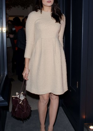 Daisy Lowe Arriving at J&M Davidson Store Launch in London