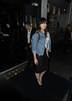 Daisy Lowe at Cafe de Paris in London