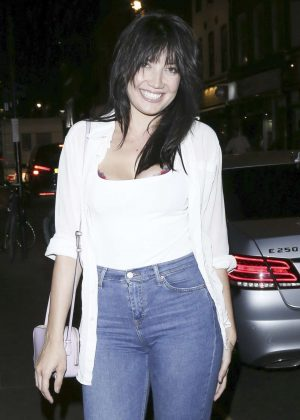 Daisy Lowe at Groucho Nightclub in London