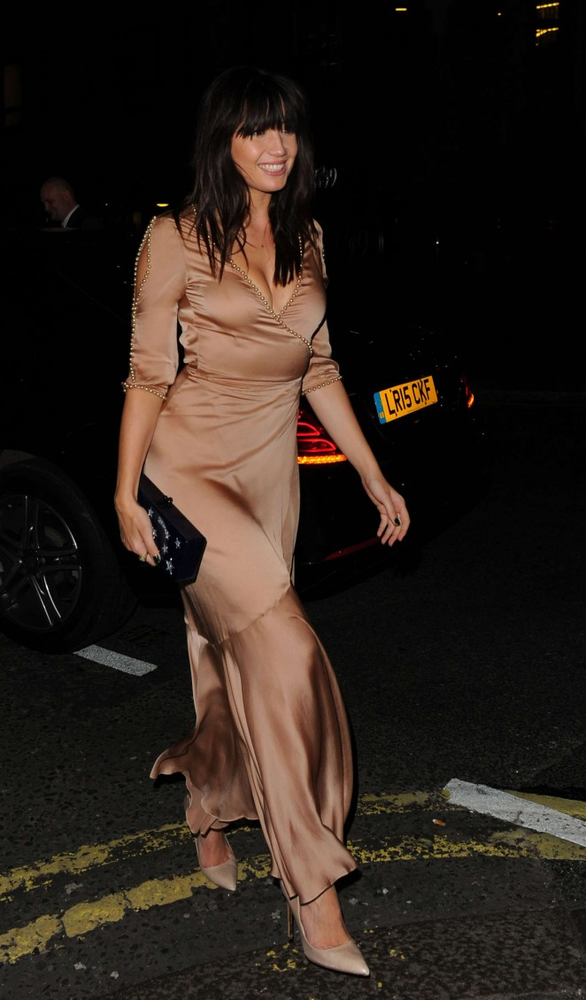Daisy Lowe at Private Dinner of Creme de la Mer in London