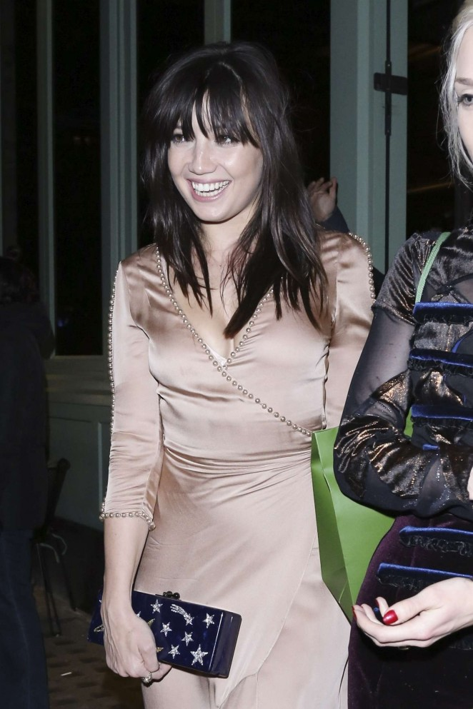 Daisy Lowe at Sexy Fish Restaurant in London