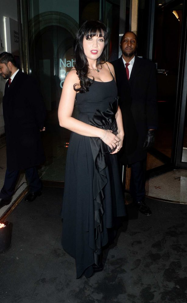 Daisy Lowe at The National Portrait Gallery in London