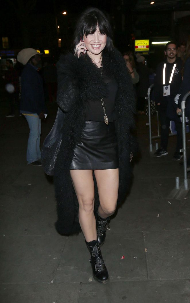 Daisy Lowe at the Shepherds Bush Empire in London