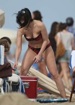 Daisy Lowe in Bikini in Miami