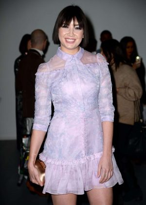 Daisy Lowe – Bora Aksu Fashion Show in London