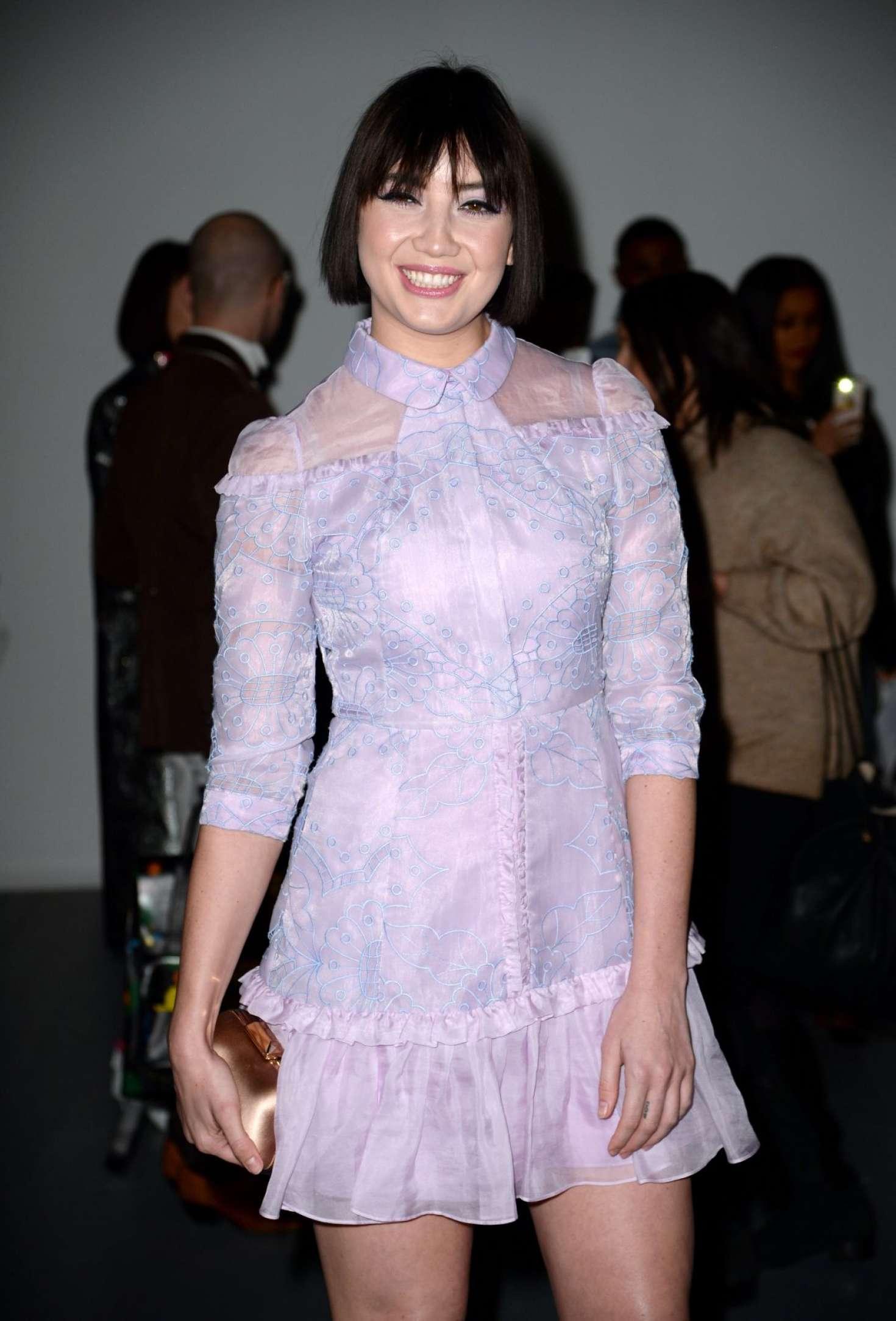 Daisy Lowe - Bora Aksu Fashion Show in London