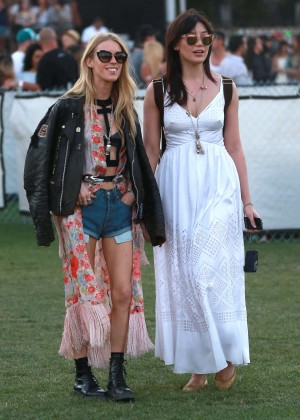 Daisy Lowe - Coachella Valley Music and Arts Festival Day 3 in Indio
