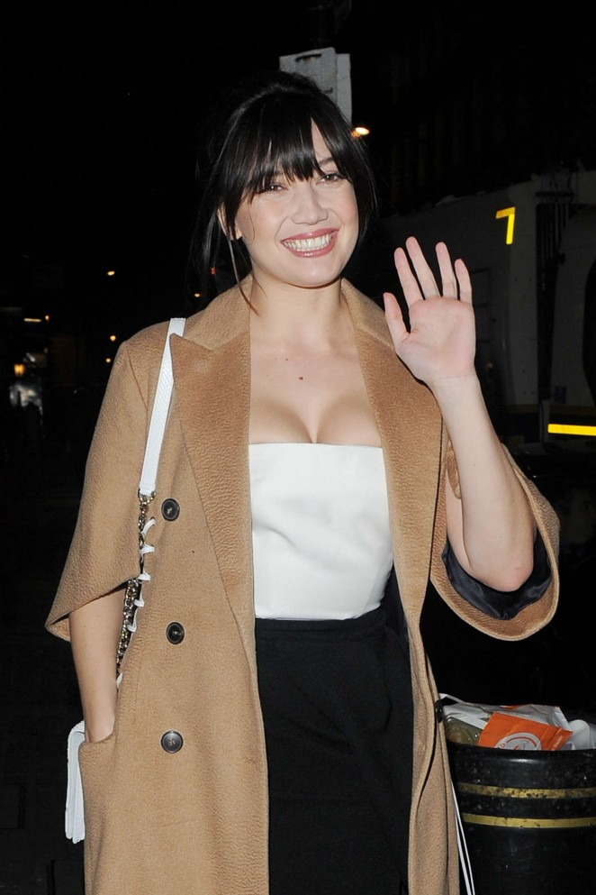 Daisy Lowe - Dior Pop-up Launch Party in London