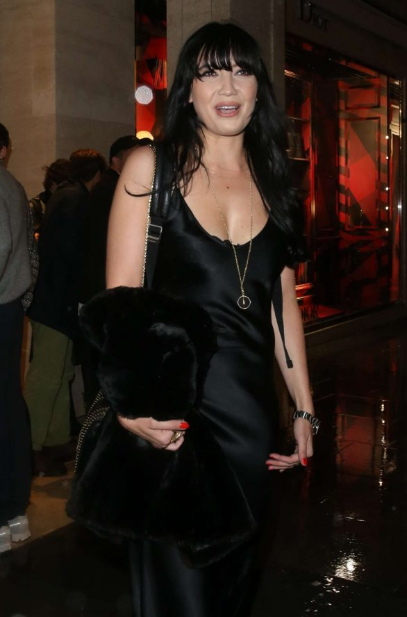 Daisy Lowe - Dior Store on New Bond Street in London