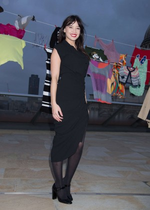 Daisy Lowe - Give Up Clothes For Good for Cancer Research in London
