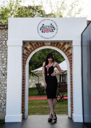 Daisy Lowe: Goodwood Festival of Speed -08