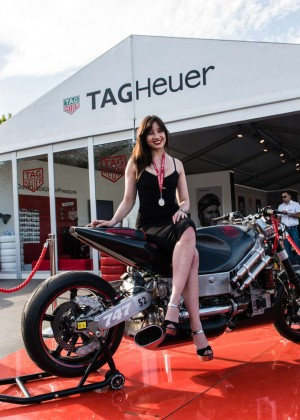 Daisy Lowe: Goodwood Festival of Speed -13