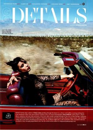 Daisy Lowe - GQ Magazine (July 2015)
