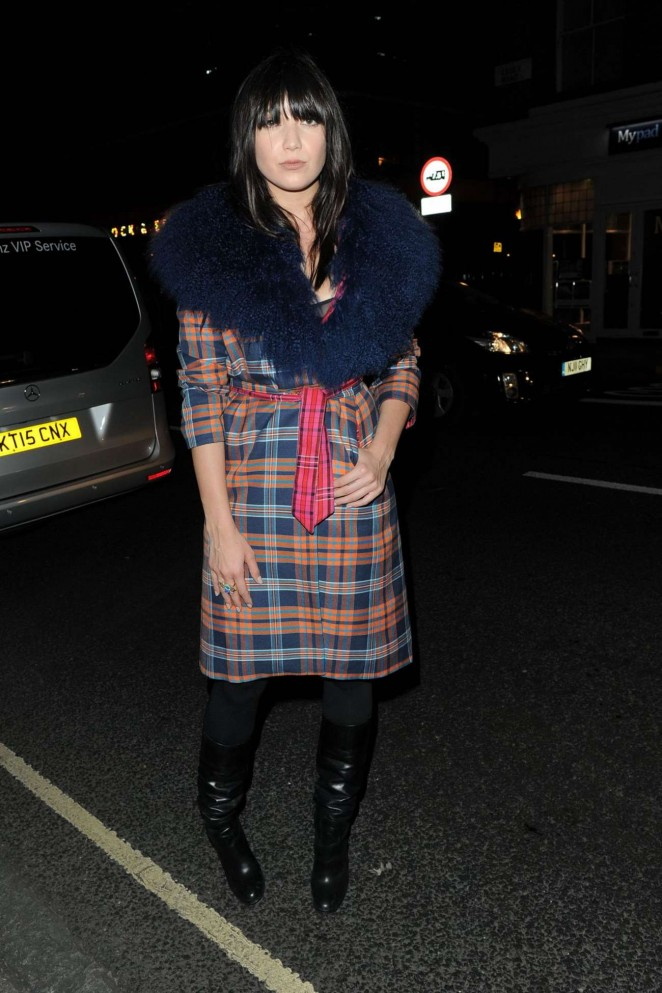 Daisy Lowe - House Of Holland Fashion Show at London Fashion Week 2015