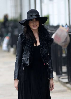 Daisy Lowe in Black Out in London