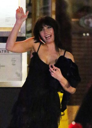 Daisy Lowe - Janette Manrara Birthday Party in Covent Garden