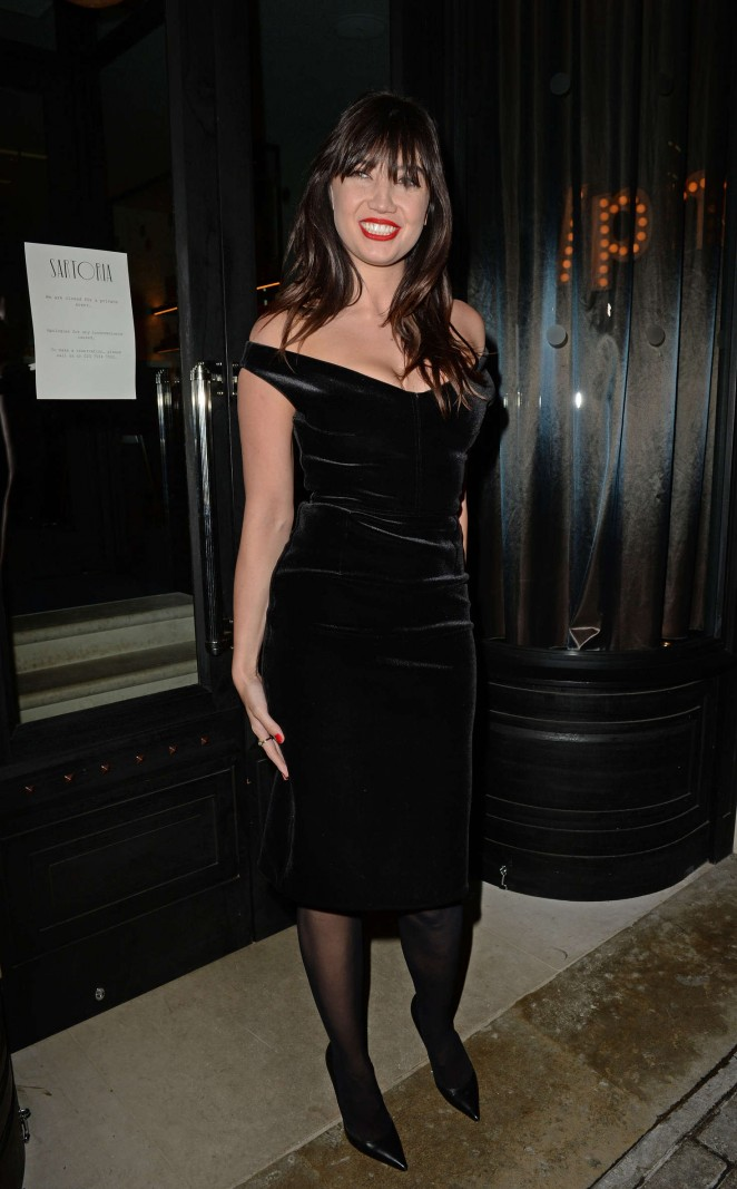 Daisy Lowe - LCM GQ Party at Sartoria Restaurant in London