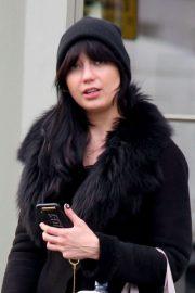 Daisy Lowe - Leaves 'NUYU' Beauty Salon in London