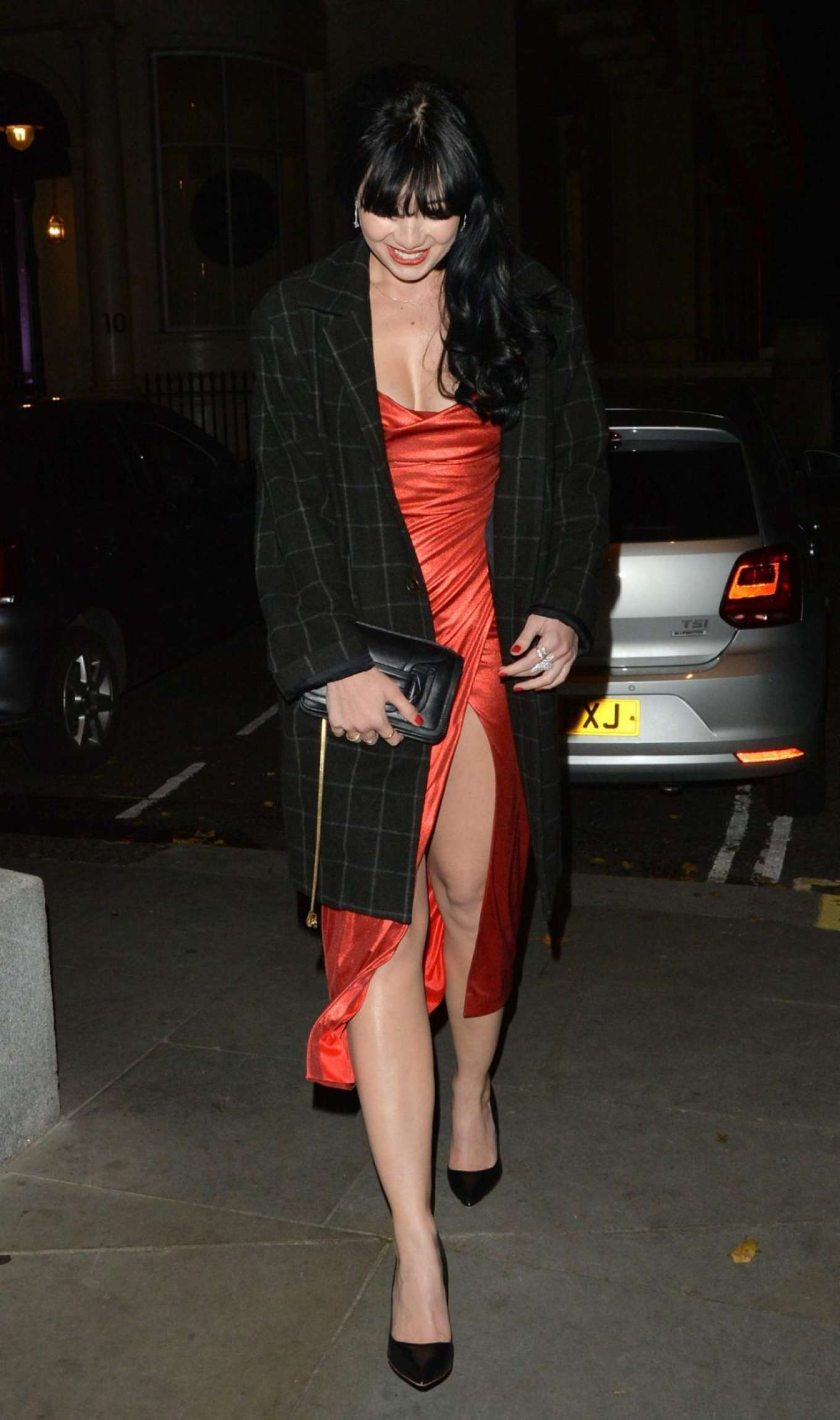 Daisy Lowe 2019 : Daisy Lowe – Leaves the Esquire Townhouse Launch in Mayfair-02