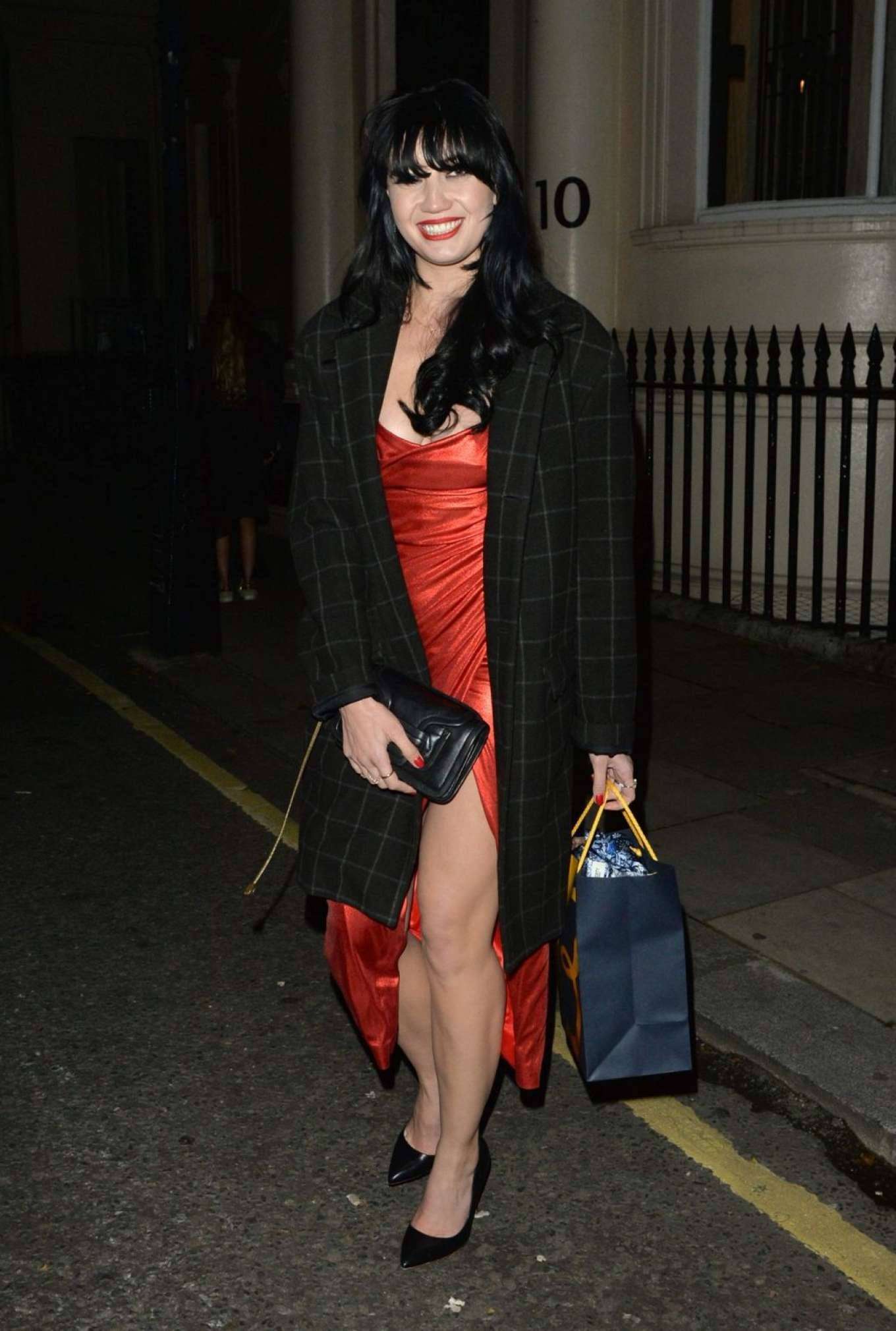 Daisy Lowe 2019 : Daisy Lowe – Leaves the Esquire Townhouse Launch in Mayfair-06