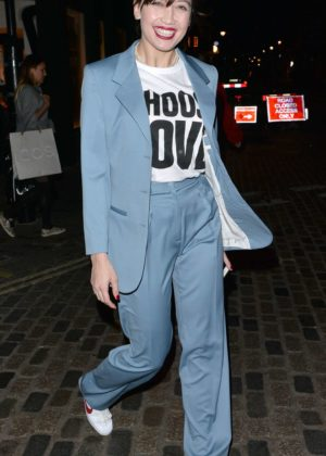 Daisy Lowe - Leaving The Choose Love Event in London