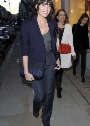 Daisy Lowe - Louis Vuitton Launch Party in London